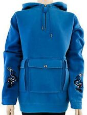 Women's B By Burton Chosen One Hoodie Ski Snowboard Blue Tang Size Large L