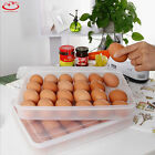 Single Layer Refrigerator Food Eggs Airtight Storage Container Plastic Box