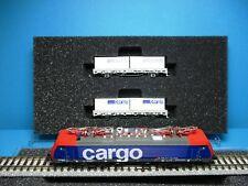 Hobbytrain H2914 SBB Zugset Cargo Domino 3 teil.,Re 474,analog,NEM,OVP,M 1:160