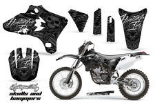 Dirt Bike Graphics Kit Decal Wrap For Yamaha WR250 WR450F 2005-2006 HISH SILVER