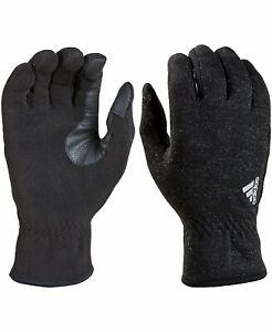 adidas Men's Edge ClimaWarm Gloves | Color Black - Size L/XL