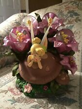 Tinker Bell on Toadstool Moods Snowglobe Figurine Disney vc4845226252 VeryRare