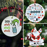 2020 Christmas Tree Hanging Ornament Pandemic Annual Events Xmas Lockdown Decor