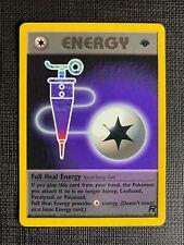 Pokemon Full Heal Energy 1st Edition Team Rocket Eng #81/82 M (T)