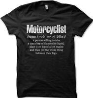 Motorcyclist Biker T Shirt, Honda Yamaha Suzuki Kawasaki Superbike  TT  OZ0454