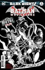 BATMAN WHO LAUGHS #1 3RD PRINT METAL DC COMICS NM