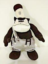 """Disney Steamboat Willie PETE Plush Doll Samantha Thavasa Black White Retro 9"""""""