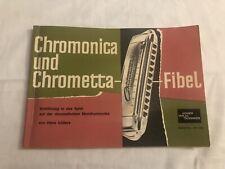 Vintage Hohner Harmonica Instruction Booklet In German