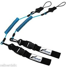 PROYAKER Set of 2 Universal Paddle or Fishing Rod Leash for Boats or Kayaks