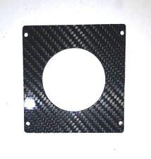CARBON FIBER CLOCK DELETE w/ 52mm gauge PANEL for BMW 84-91  E30 325i 318i 325e