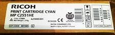 ORIGINAL TONER RICOH MP-C 2551HE  - CYAN - EDP CODE 841505