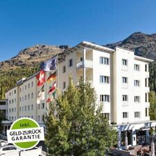 4 Tage Kurzurlaub St. Moritz Hotel Laudinella Schweiz Biking Wandern Wellness