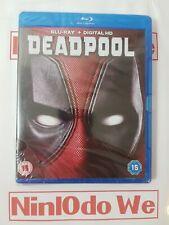 Deadpool Blu Ray + Digital HD