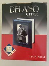 Delano black photo album holds 80 4x6 pictures