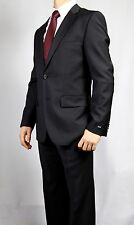 """Hugo Boss """"The Paolini/Movie"""" Regular Fit Midnight Blue Two Button Wool Suit 38R"""