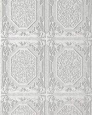 Wall ceiling wallpaper wall EDEM 101-00 decor textured vinyl white 5.33 sqm