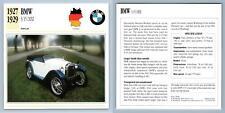 BMW - 3/15 Dixi - 1927-29 Popular Collectors Club Card