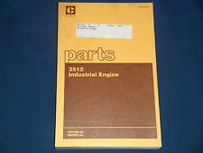 CAT CATERPILLAR 3512 INDUSTRIAL ENGINE PARTS BOOK MANUAL S/N 49Y486-UP 65Z602-UP
