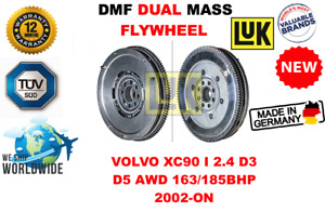 FOR VOLVO XC90 I 2.4 D3 D5 AWD 163/185BHP 2002-ON NEW DUAL MASS DMF FLYWHEEL