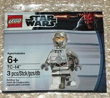 "Star Wars Lego Mini Figura TC-14 Protocol Droid ""NUEVO"" Nuevo Sellado - 5000063"