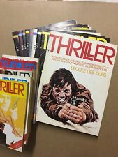 THRILLER - Collection Complète - TBE/NEUF