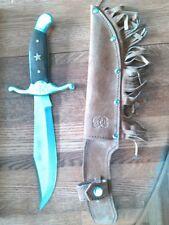 Replica Daniel Boone Bowie Knife w/case