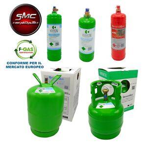 BOMBOLA GAS REFRIGERANTE CONDIZIONATORI R134A R1234YF DA 12 / 5 / 2 / 0,9 KG