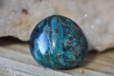 Chrysocolla Natural Tumbled Stone Crystal Healing Chakra Balance Gemstone 27mm
