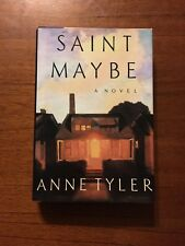 SIGNED Saint Maybe By Anne Tyler 1st Edition 1st Printing 1991