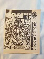 Vintage Ad The Doors Iron Butterfly July 3 1967 La Free Press Unframed