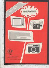 9333 El Globo  1966 camera catalog US tourist Caribbean Alex N. Mossman, Leica