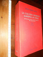 LIBRO:LA CULTURA GIURIDICA EUROPEA IN ITALIA VOL.1-2-inDici  REPERTORIO