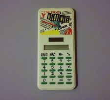 MELODY MAKER MUSIC MAGAZINE 1980s SOLAR POWER CALCULATOR VERY RARE COLLECTABLE