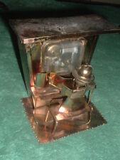 Man at an Organ Music Box. Local Art with China made Clockworks.