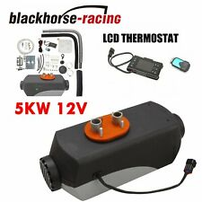 5KW 12V Diesel Air Heater LCD Thermostat For Truck Car Boat Trailer RV Motorhome