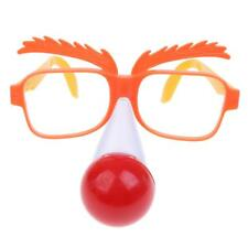 Novelty Funny Party Plastic Clown Red Nose Eye Glasses Sunglasses Gift Toy