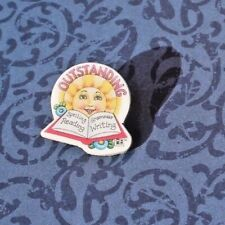 Mary Engelbreit Collar Hat Tie Tack Pin, Outstanding, New Free Shipping!