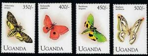 UGANDA 1994 BUTTERFLIES MNH INSECTS