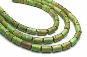 Australian GASPEITE 6mm Tube Beads NATURAL