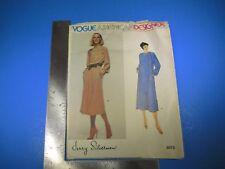 Vogue American Designer Pattern #2073 Jerry Silverman Vogue Pattern Srvc M3852