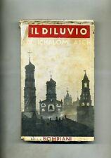 Schalom Asch # IL DILUVIO # Bompiani Anni '40