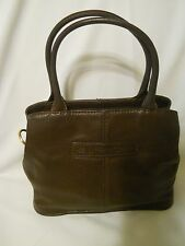Fossil Handbag Dpth 4, Height 9, Length 10 1/ 2 Drop 5 Brown Leather Satchel Med