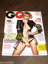 Rare GQ Portugal Mens Magazine May 2013 - Adriana Cernanova Matthew McConaughey