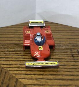 HTF 1980 Aurora AFX #1740 G-plus Ferrari T4 F1 #2 Broken Windshield - Body Only!