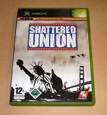 Microsoft XBox Spiel Game - Shattered Union - Strategiespiel