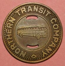 Fargo North Dakota Northern Transit Company 23mm -Transit Token