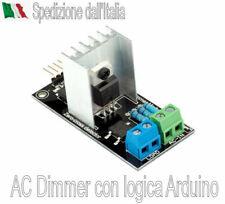 AC Dimmer per luce 230VAC, 1x PWM, 1x Zero Cross detector, 3.3/5V logica Arduino
