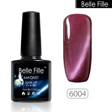 BELLE FILLE Cat Eyes Nail Gel Polish Soak-off UV/LED Magnetic Gel Polish #6004