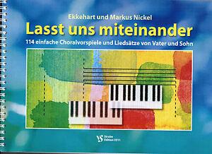 Kirchenorgel Noten : Lasst uns miteinander 114 - Neue Geistliche Lieder - lei MS