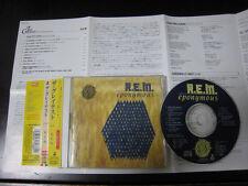 R.E.M. Eponymous The Greatest Japan CD w OBI Lyrics Sheet Michael Stipe REM